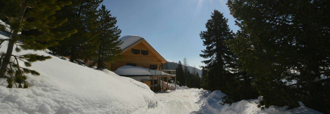 Chalet Jagers Mond in snow