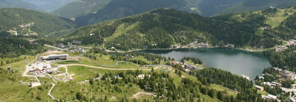Turracher Hohe austria in summer lake